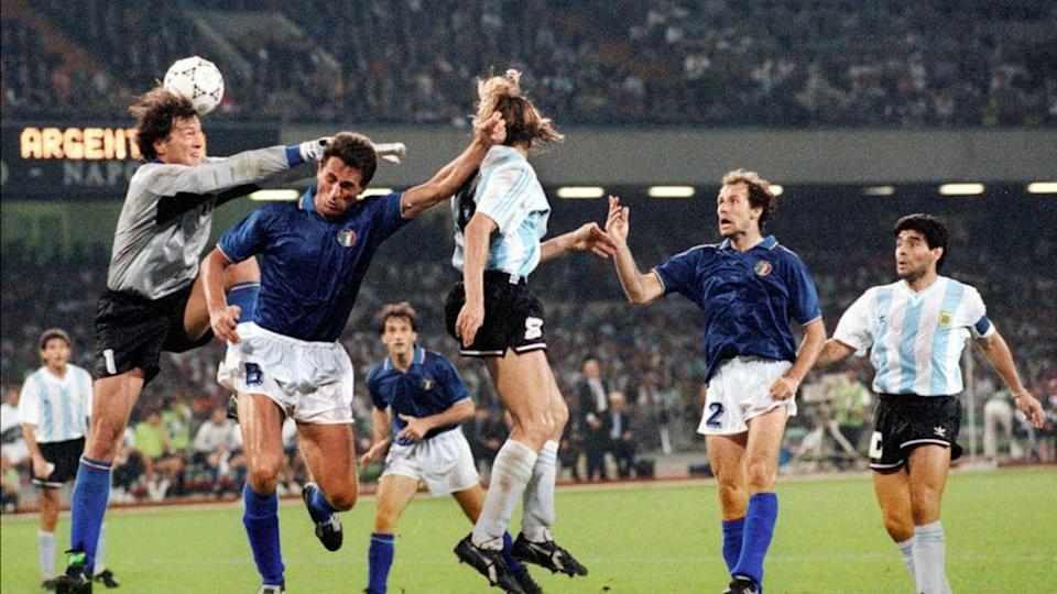 WORLD CUP-1990-ITA-ARG | STAFF/Getty Images