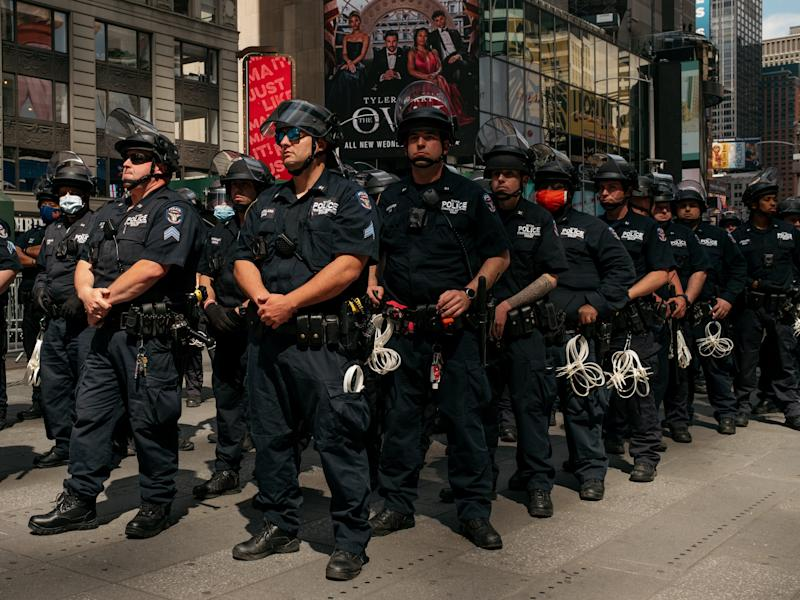 NYPD New York City NYC George Floyd Protest Police