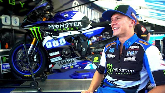 """With back-to-back MotoAmerica Supersport titles under his belt, Garrett Gerloff has big dreams for next season. """"I would really like to ride one of those Superbikes,"""" he said. """"That's my goal."""""""