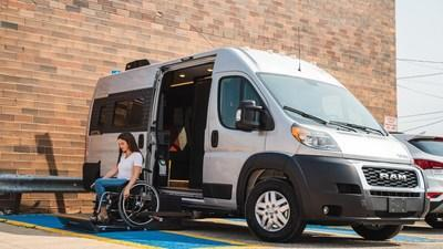 Coming Fall 2021, the Winnebago Roam is a unique class-B RV designed with a wheelchair lift, standard wheelchair tie-downs, and more.
