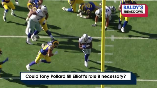 NFL Network's Brian Baldinger breaks down Dallas Cowboys running back Tony Pollard and his ability to fill running back Ezekiel Elliott's spot if necessary.