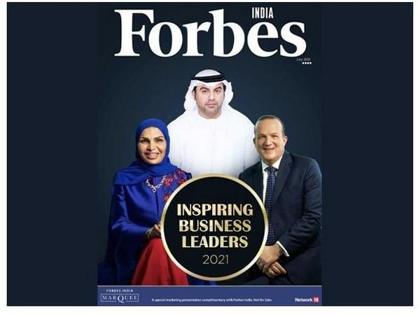 Business enthusiast gets featured in Forbes India as an 'Inspiring Leader 2021'