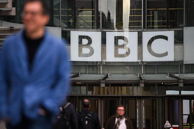 A file image of BBC Broadcasting House in London. (Peter Summers/Getty Images)