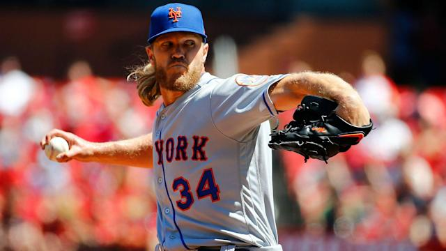 "The Brewers are ""monitoring"" Syndergaard's availability while ""some within the Astros organization are intrigued"" by him."
