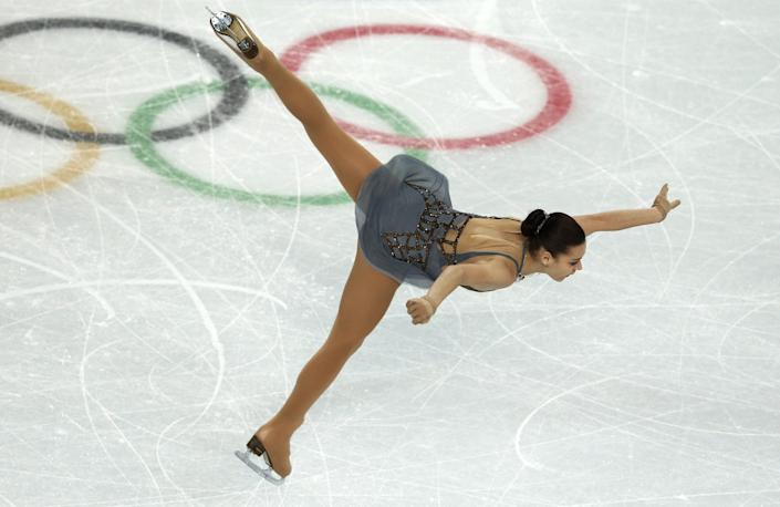 Russia's Adelina Sotnikova performs in the Women's Figure Skating Free Program on Feb. 20, 2014.