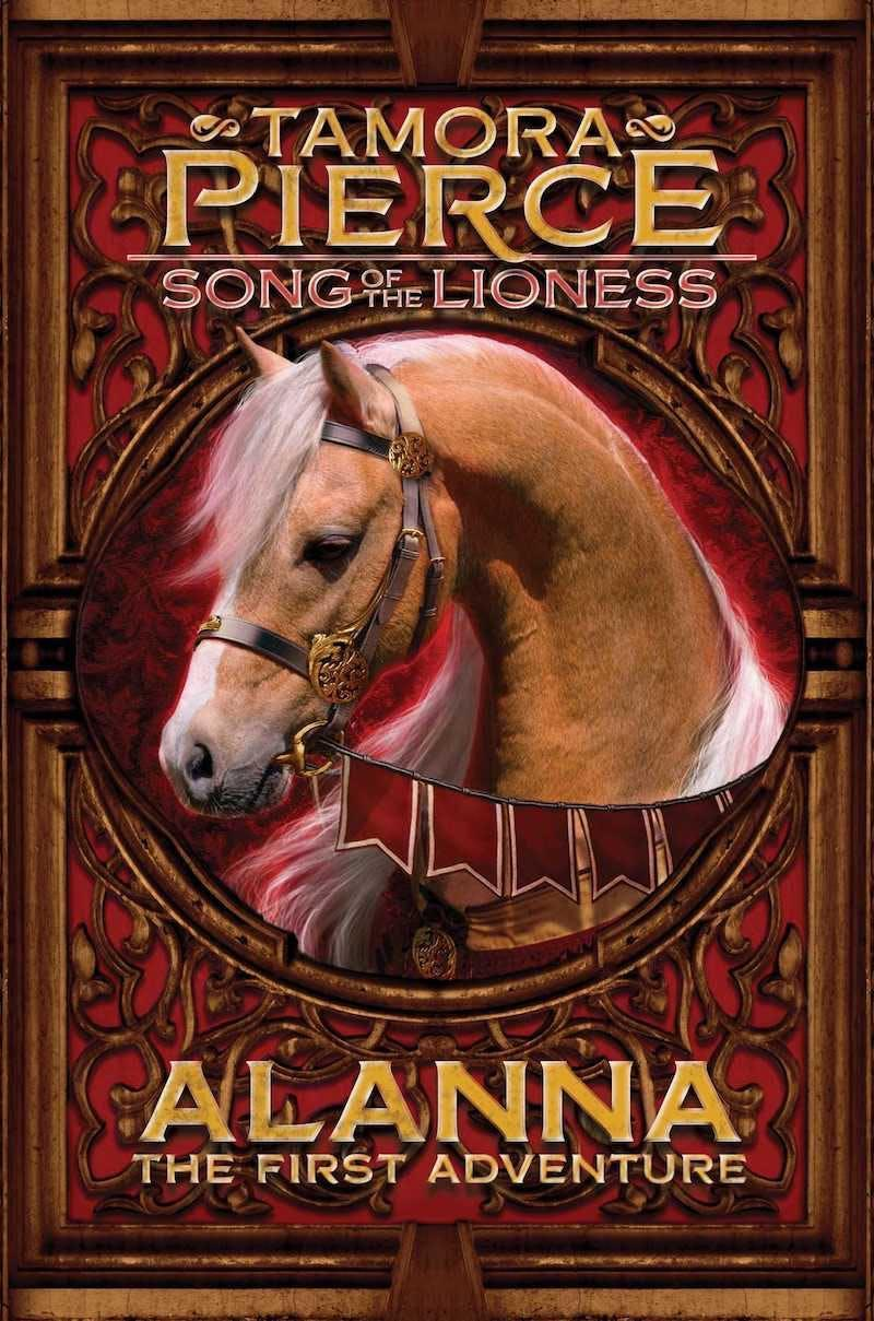 Book cover of Alanna The First Adventure