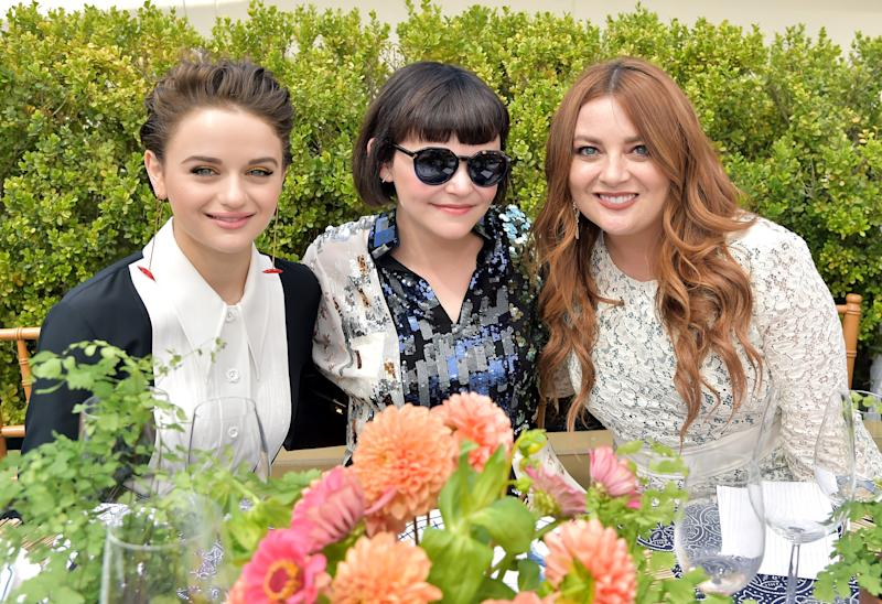 Joey King, Ginnifer Goodwin, and Samantha Barry.