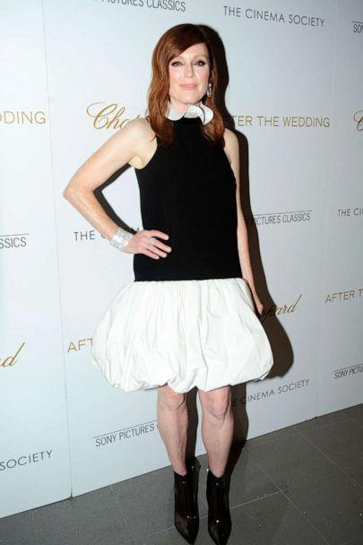 PHOTO: Julianne Moore attends Chopard And The Cinema Society Host A Special Screening Of Sony Pictures Classics' 'After The Wedding' at Regal Essex Crossing, Aug. 6, 2019, in New York City. (Paul Bruinooge/Patrick McMullan via Getty Image)
