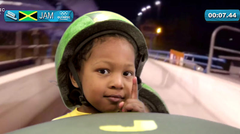 Video Imagines Adorable Toddlers Competing At The Winter Olympics