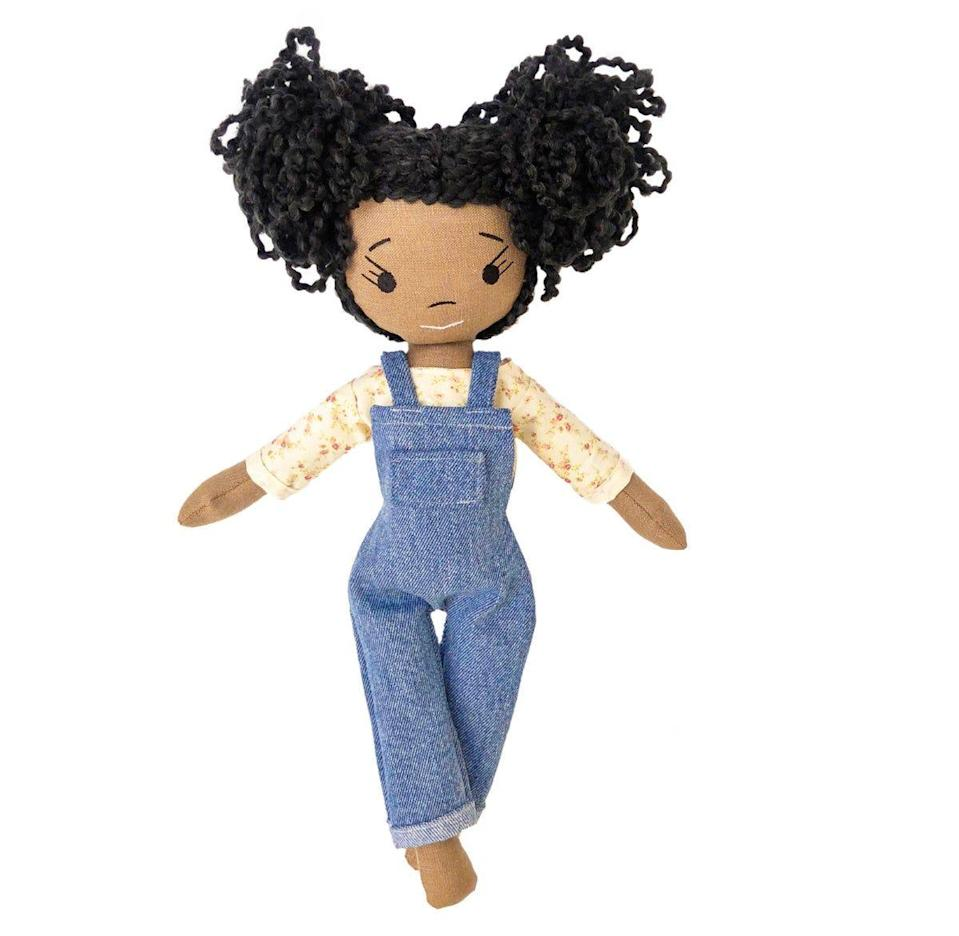 """<p>harperiman.com</p><p><strong>$98.00</strong></p><p><a href=""""https://www.harperiman.com/product/kimiko-handnade-keepsake-doll"""" rel=""""nofollow noopener"""" target=""""_blank"""" data-ylk=""""slk:Shop Now"""" class=""""link rapid-noclick-resp"""">Shop Now</a></p><p>Skip the plastic dolls and opt for something special and handmade. </p>"""