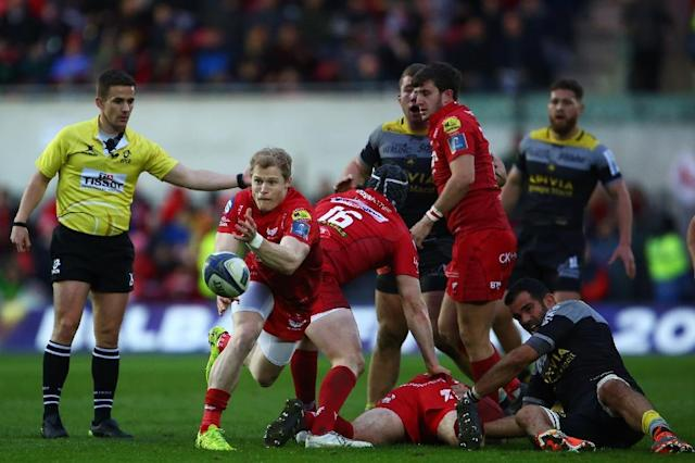 Scarlets are playing in their first European Champions Cup semi-final since 2007 (AFP Photo/Geoff CADDICK)