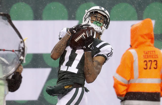 Robby Anderson had more charges dropped on Wednesday. (Winslow Townson/AP Images for Panini)