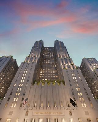 Iconic Waldorf Astoria New York launches 'Waldorf Stories' website to honor the history of the world-renowned hotel. Photo Credit: Noë & Associates / The Boundary