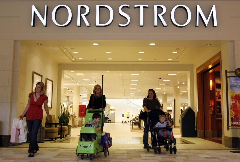 The Nordstrom store at a mall in a Denver suburb