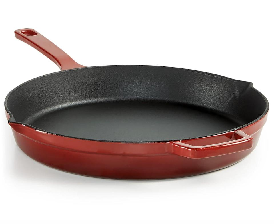 <p><span>Martha Stewart Collection Enameled Cast Iron 12 Fry Pan</span> ($47, originally $110 (with code FOURTH))</p>