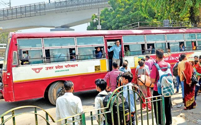 <p>According to the ban introduced in the three ISBTs of Delhi - Kashmere  Gate, Anand Vihar and Sarai Kale Khan - the drivers will be fined Rs 500  for honking and Rs 100 for shouting and soliciting destination to  passengers.</p>