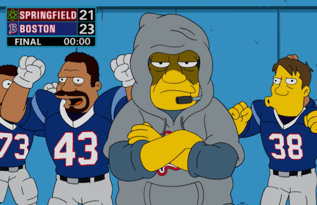 The Key to Fox's 'The Simpsons' Success? Football