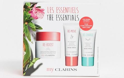 My Clarins Christmas Kit - Credit: ASOS