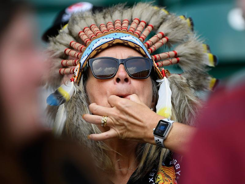 As this rugby fans demonstrates, not all wolf whistling should be treated as a crime: Getty Images