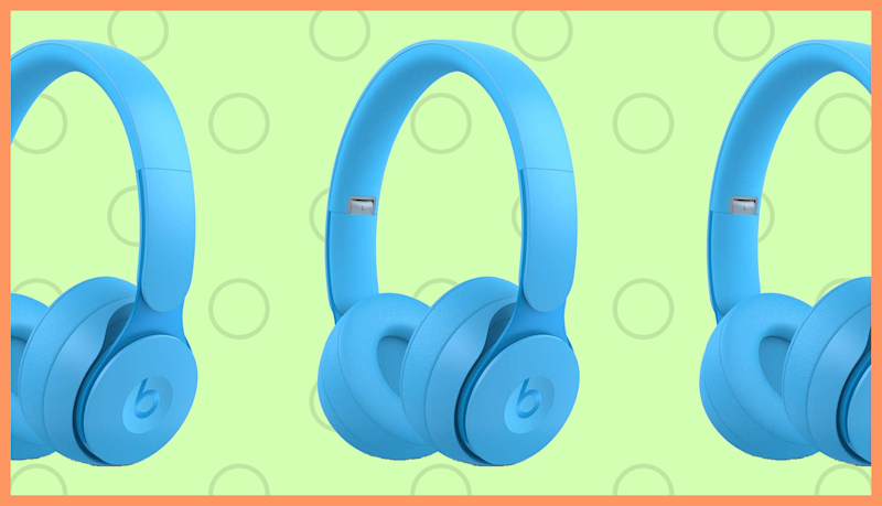 Beats Solo Pro Wireless Noise-Canceling On-Ear Headphones—Light Blue. (Photo: Beats)