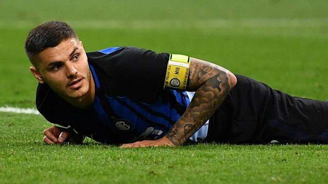 Striker Mauro Icardi will discuss his future with Inter at the end of the season, but has not ruled out leaving the club.