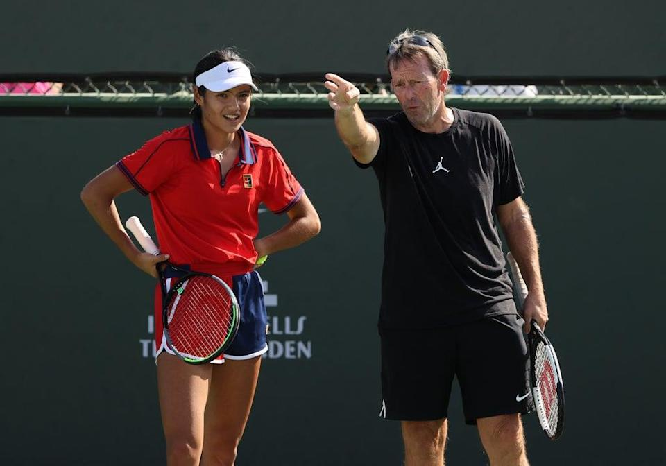 Jeremy Bates is assisting in Indian Wells (Getty Images)