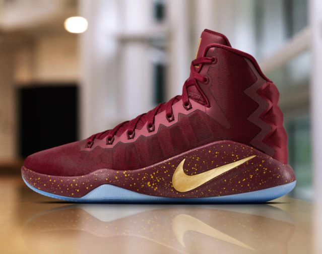 Kevin Love's shoes now also have his own logo. (Nike)