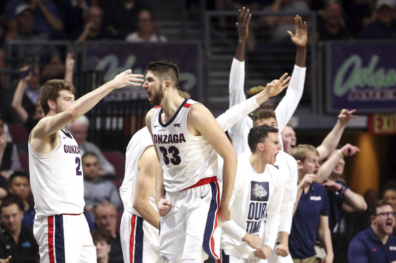 Saint Mary's seeks another WCC final upset of No. 2 Zags