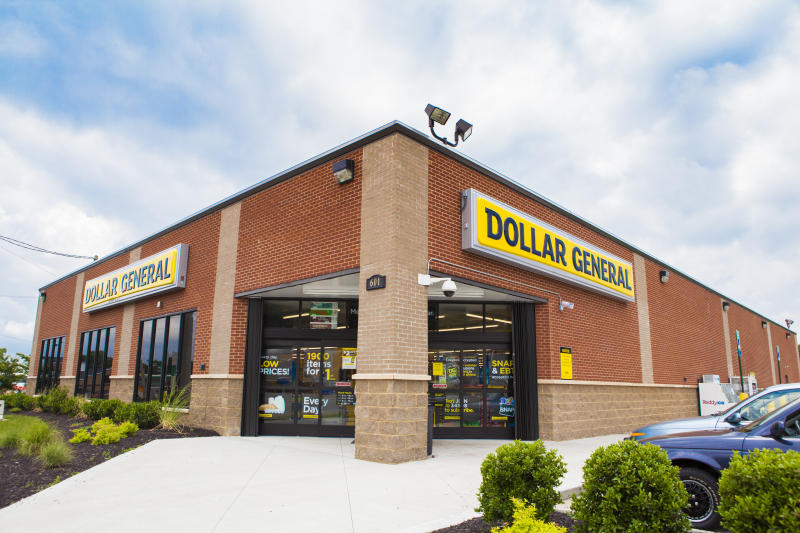 A Dollar General store.