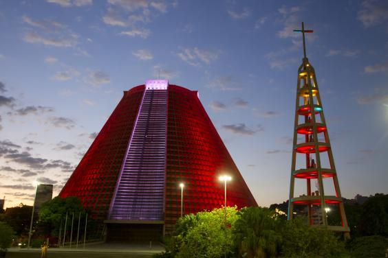 The Metropolitan Cathedral is a brutalist masterpiece (Getty Images)