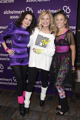 NASHVILLE, TENNESSEE - SEPTEMBER 29: (L-R) Kimberly Williams-Paisley, Bonnie Hunt and Sheryl Crow attend Nashville's 80's dance party to end ALZ benefitting the Alzheimer's Association on September 29, 2019 in Nashville, Tennessee. (Photo by Ed Rode/Getty Images for Alzheimer's Association)