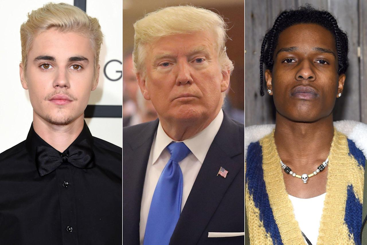 Justin Bieber Asks Trump 'Can You Also Let Those Kids Out of Cages?' Amid A$AP Rocky Involvement