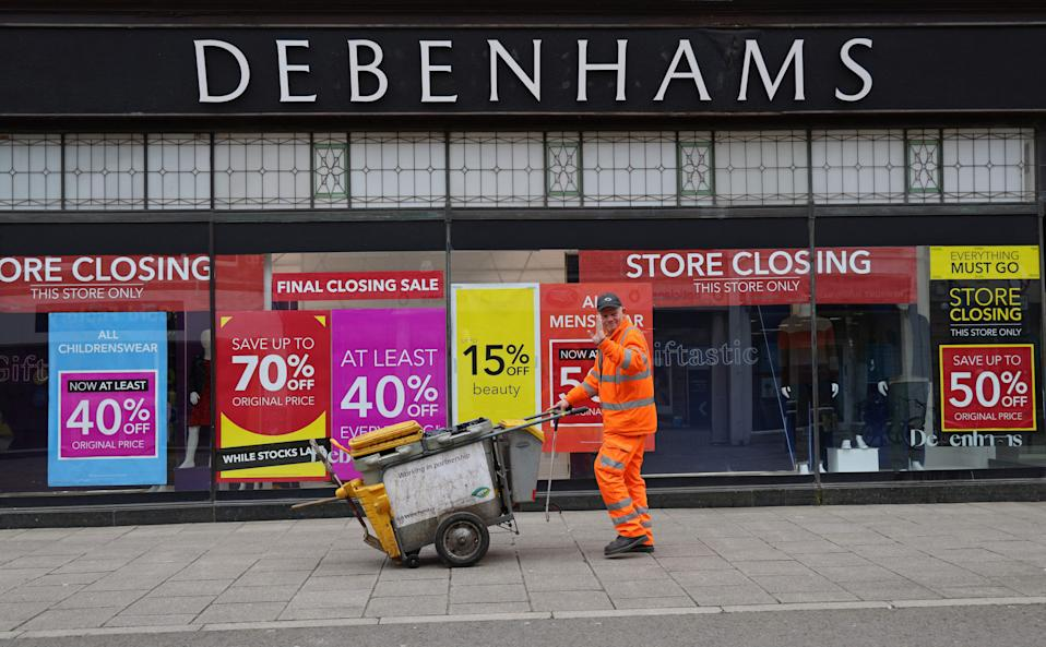 <p>The last of the 28 stores will shut this evening  </p> (AFP/Getty)