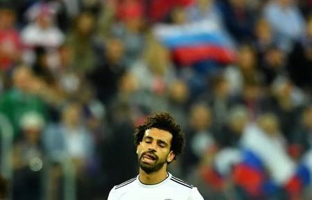 Soccer Football - World Cup - Group A - Russia vs Egypt - Saint Petersburg Stadium, Saint Petersburg, Russia - June 19, 2018 Egypt's Mohamed Salah looks dejected REUTERS/Dylan Martinez