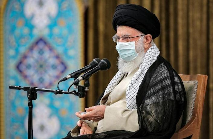 """Supreme leader Ayatollah Ali Khamenei tells Iran's outgoing government that the main lesson to be drawn from its eight years in power is that """"trusting the West does not work"""""""