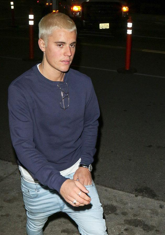 Justin kept the neighbours awake with his late-night partying. Source: Getty