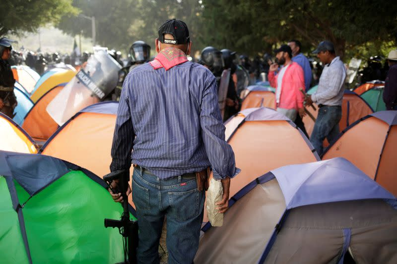 Two killed as violence spills from Mexico protest against water flow to U.S.