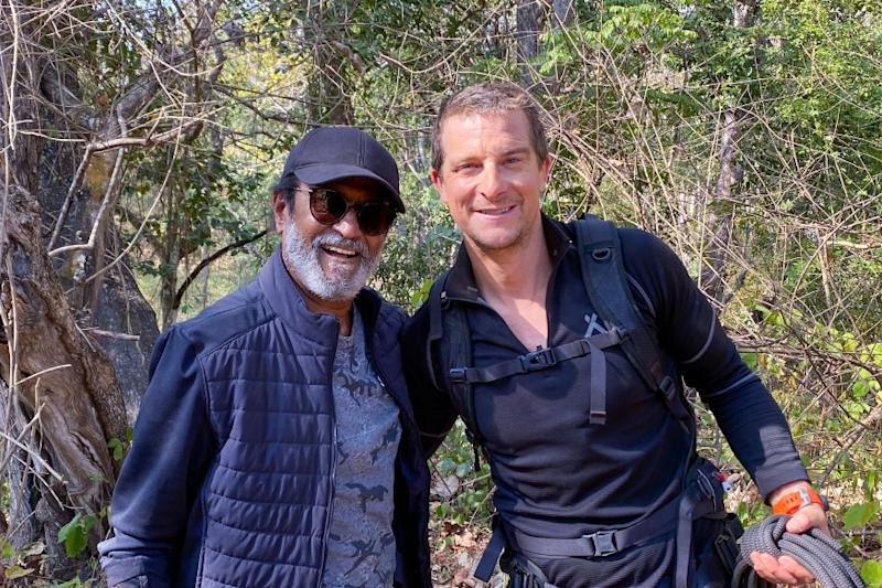 Rajinikanth on Into The Wild With Bear Grylls Premieres Tonight, Here's Where You Can Watch it