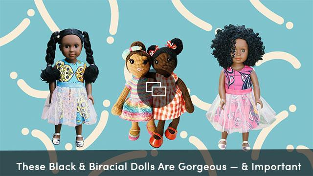 Biracial and black dolls