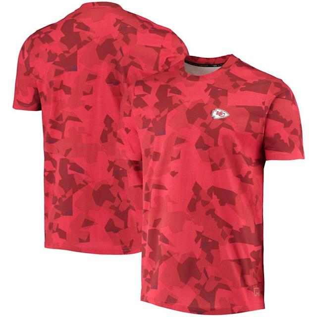 Chiefs MSX by Michael Strahan Camo T-Shirt