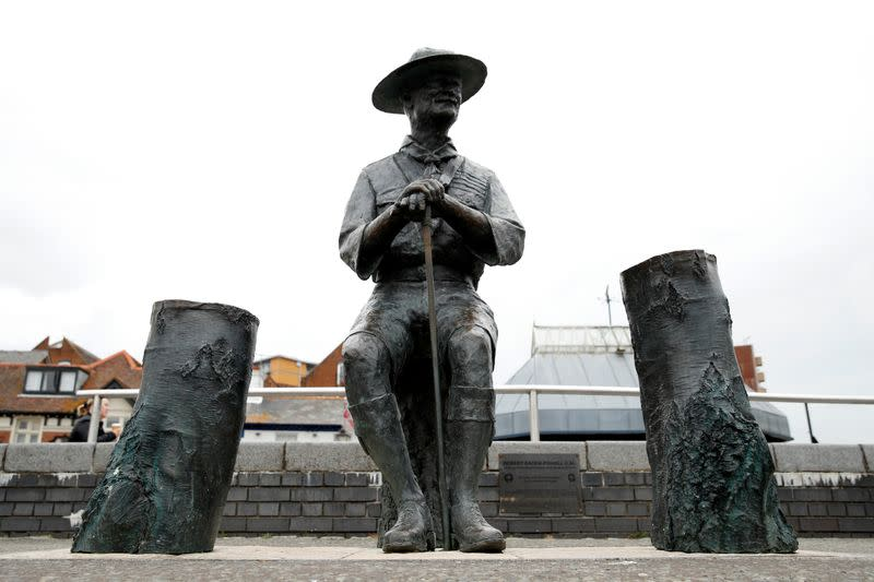 UK council stops plan to remove statue of scout founder Baden-Powell