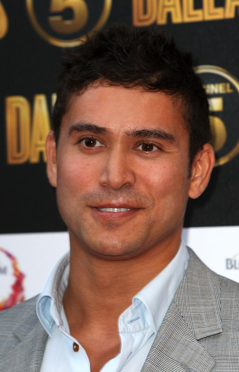 Rav Wilding is seen at a photocall ahead of the UK broadcast of Dallas on Tuesday, August 21, 2012 in London, UK. (Photo by Jon Furniss/Invision/AP)