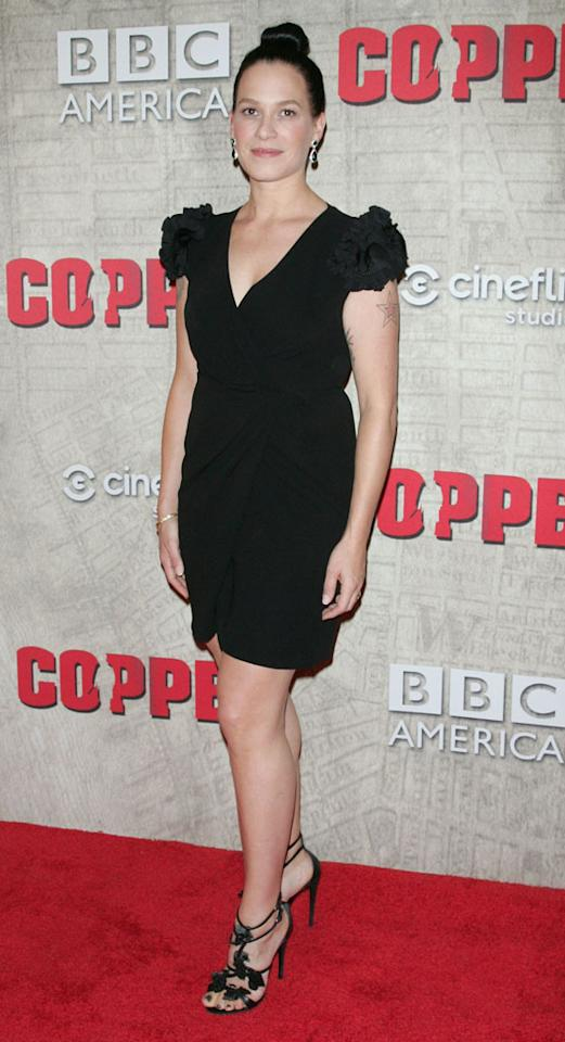 """Franka Potente attends the """"Copper"""" premiere at The Museum of Modern Art on August 15, 2012 in New York City."""