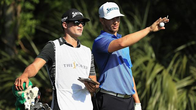 Casey Clendenon, who caddies for Chris Stroud, won the gross division of the annual PGA Tour caddie tournament on Monday.