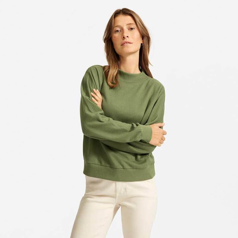 The Lightweight French Terry Mockneck