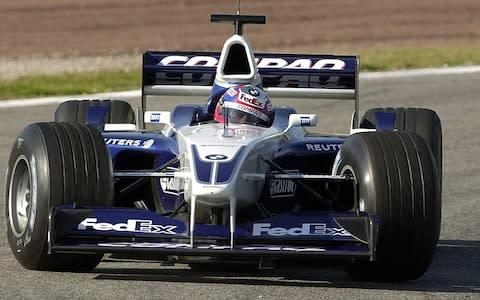 <span>Juan Pablo Montoya was a force to be reckoned with at Williams and McLaren</span> <span>Credit: EFE </span>
