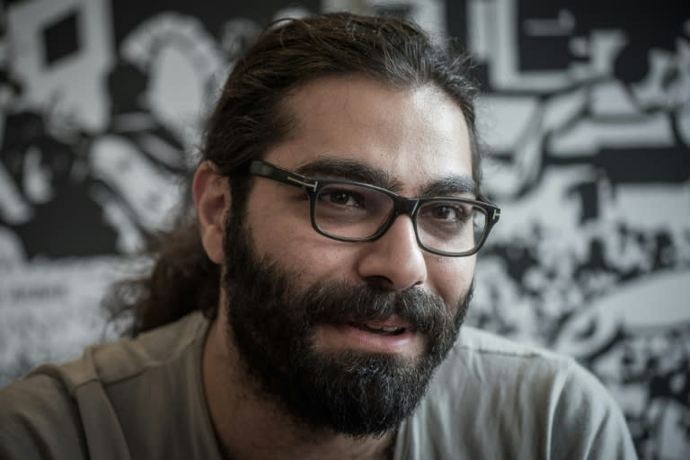 Syrian artist and cartoonist Hamid Sulaiman's graphic novel about an underground hospital for wounded rebels is being acclaimed in France and Germany