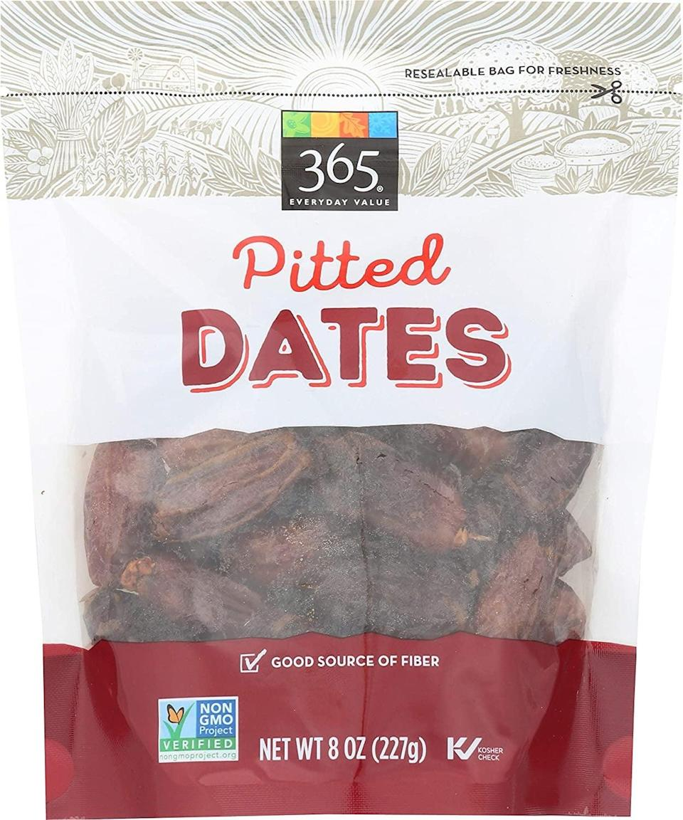 <p>These nutritious <span>365 Pitted Dates</span> ($4) are a good source of fiber.</p>