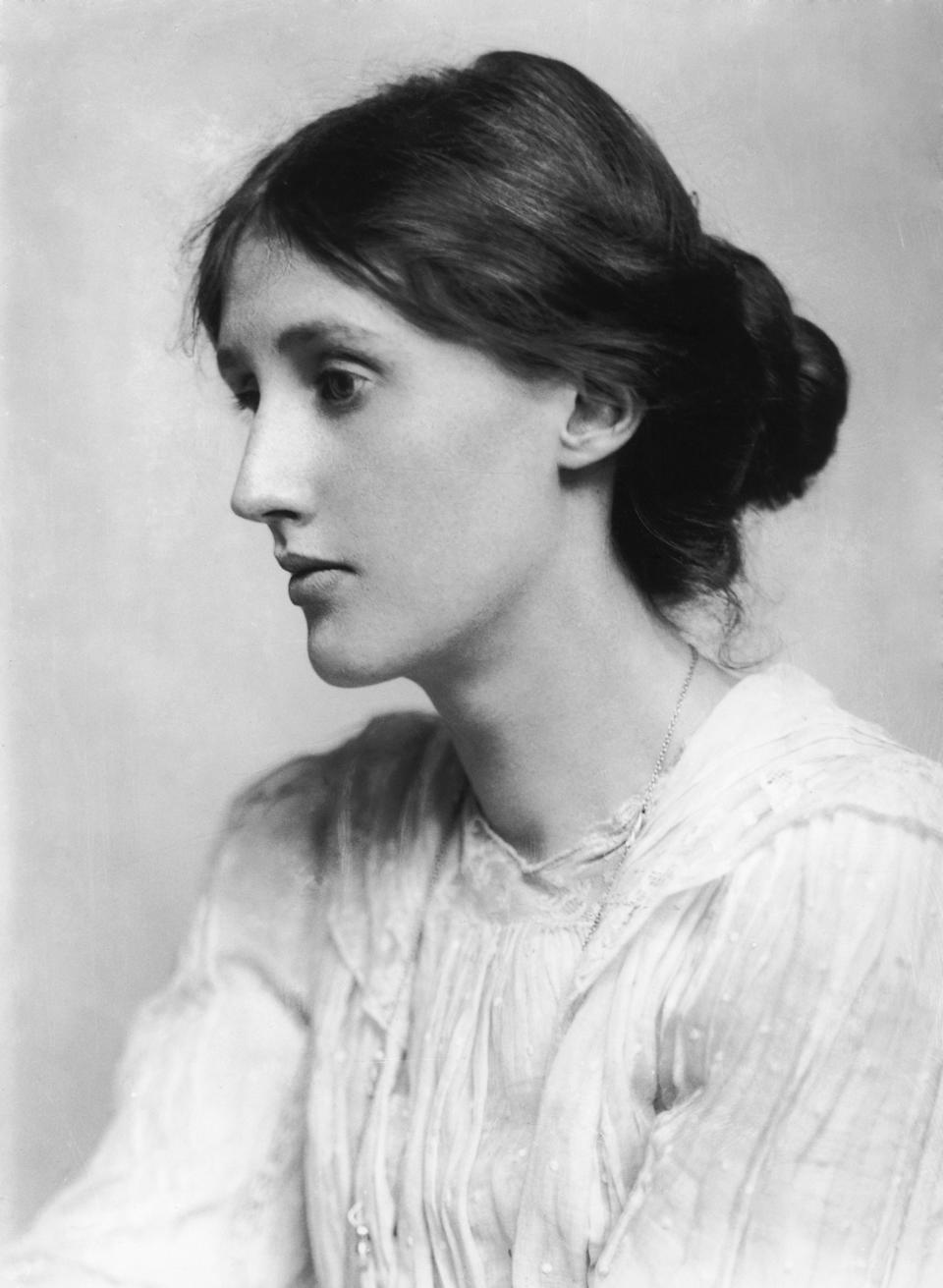 English novelist and critic Virginia Woolf (Photo by George C. Beresford/Hulton Archive/Getty Images)