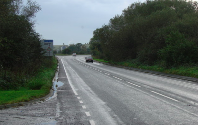 The third most dangerous road in the country is the A645 between the A638 and the A639 (Wikipedia)